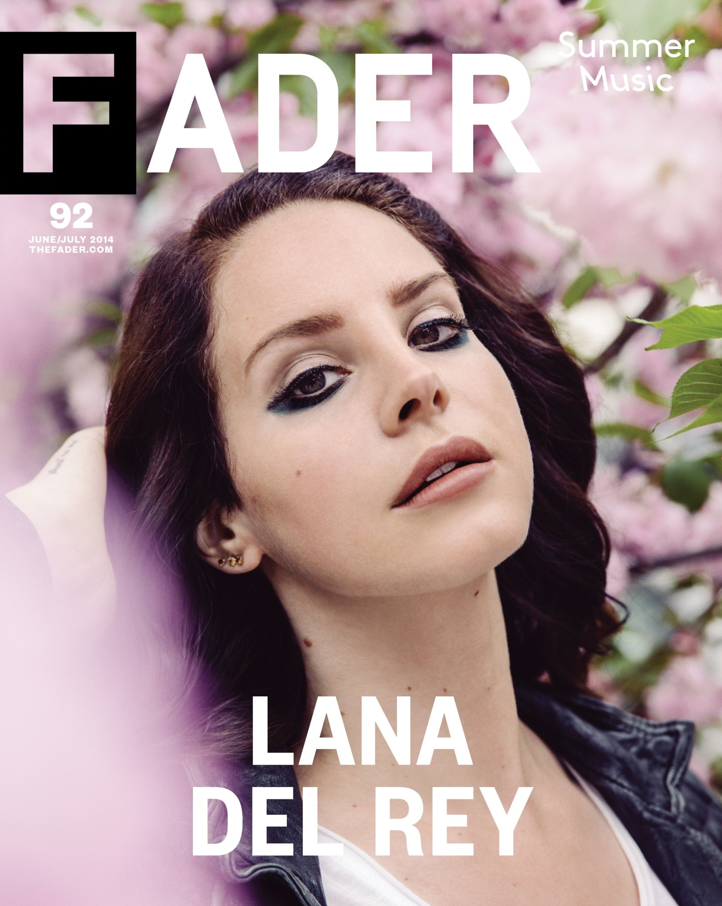Lana Del Rey - The FADER cover