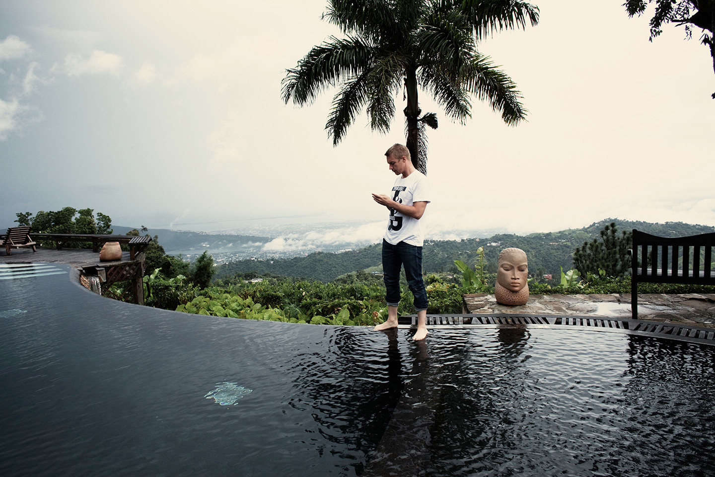 Diplo in Jamaica
