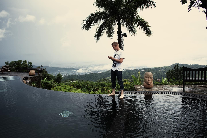 Diplo in Jamaica