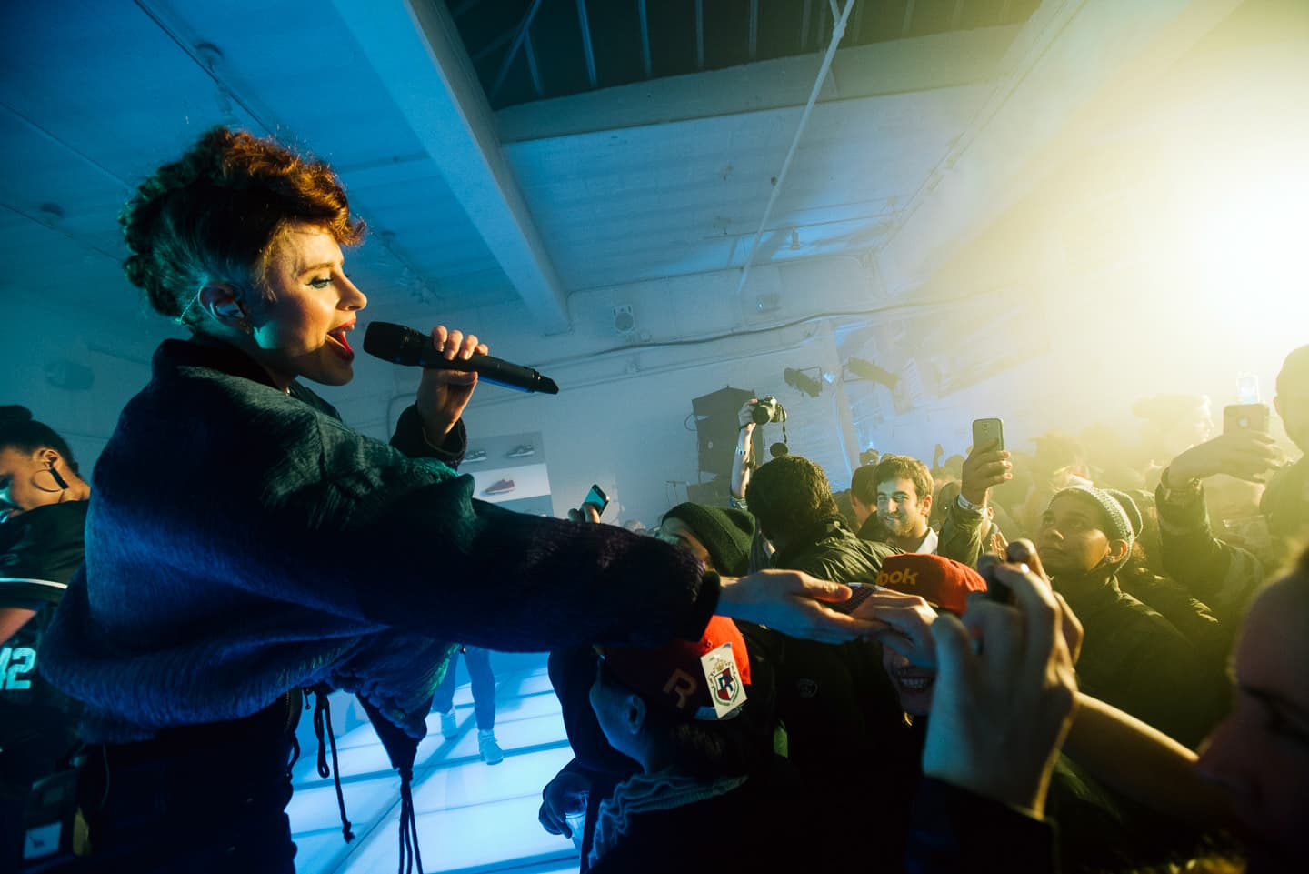 kiesza reebok coast to coast nyc