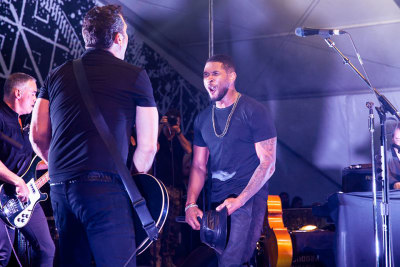Usher and The Afghan Whigs perform at the FADER FORT SXSW 2013