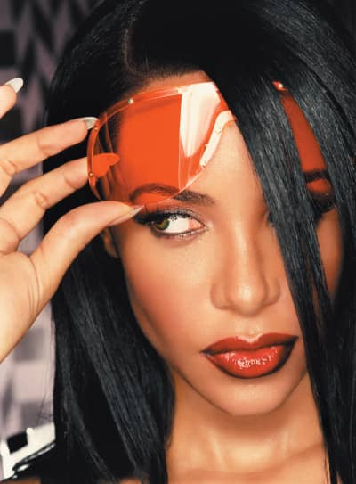 Aaliyah by David LaChapelle in 2001