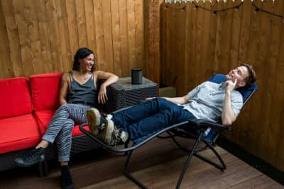 At Home With Matt & Kim
