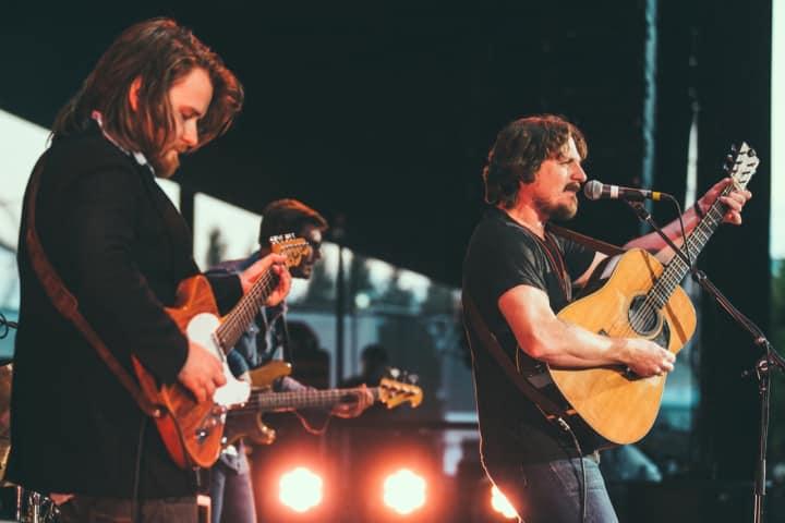 Estonian guitarist Laur Joamets and Sturgill Simpson