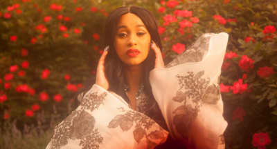 Cardi B is the first rapper to have her first three Billboard hits in the top 10