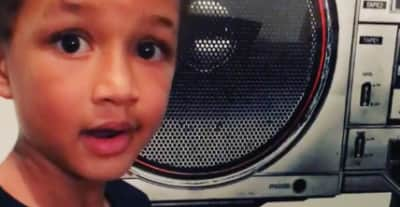 Watch Swizz Beatz And Alicia Keys' 5-Year-Old Son Egypt Play His First Original Song