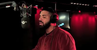 """Watch a trailer for Drake's """"Fire In The Booth"""" freestyle"""