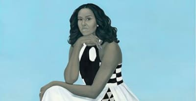 Michelle Obama's presidential portrait dress has a political backstory