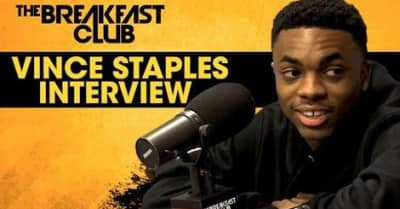 Vince Staples Talks Tupac Biopic And Big Fish Theory Inspirations On The Breakfast Club