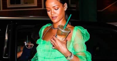 Rihanna's Bright Green Tutu Dress Is By Emerging British Designer Molly Goddard