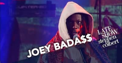 "Watch Joey Bada$$ Perform ""Land Of The Free"" On The Late Show"