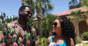Gucci Mane and Keyshia Ka'oir Davis have perfected the summer vacation look