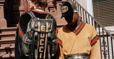Gucci's collaboration with Dapper Dan is now available