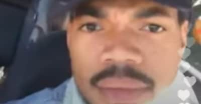 Chance The Rapper livestreamed a police stop on Instagram