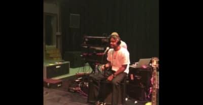 "Frank Ocean Shares Live Studio Recording Of ""Nikes"""