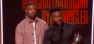 Watch Ryan Coogler's acceptance speech for Black Panther at the BET Awards