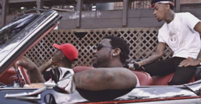 "Lotto Savage And Gucci Mane Turn Up A Sorority House In The ""Trapped It Out (Remix)"" Video"