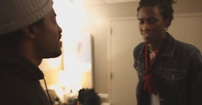 Watch Young Thug Hang Out With André 3000 Backstage On The HIHORSE'D Tour