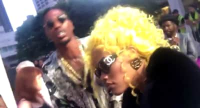 Teyana Taylor And Iman Shumpert Dressed Up As Lil Kim And Biggie At The VH1 Hip Hop Honors