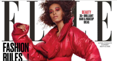 Solange Is The Cover Star For ELLE's New Issue