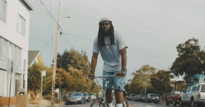 "Bike Around The East Bay With Rexx Life Raj In His ""Running Man"" Video"