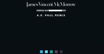 "James Vincent McMorrow's ""Rising Water"" Gets Remixed By AK Paul"