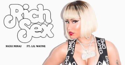 "Nicki Minaj shares new song ""Rich Sex"" featuring Lil Wayne"