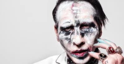 Report: Marilyn Manson concert cut short after stage prop collapses on him