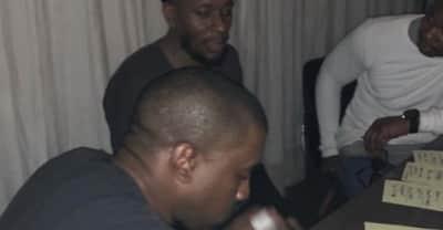 Kanye West, Talib Kweli, and Yasiin Bey might be working on something