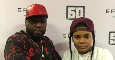 "50 Cent Joins Young M.A For The ""OOOUUU"" Remix"