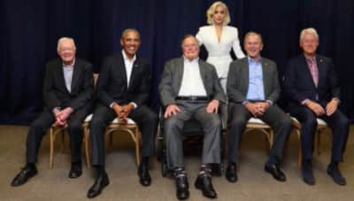 Watch Lady Gaga perform at the One America Appeal hurricane fundraiser