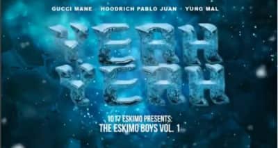 "Gucci Mane shares ""Yeah Yeah"" featuring Hoodrich Pablo Juan and Yung Mal"