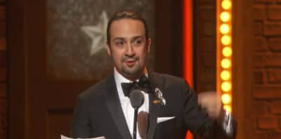 Lin-Manuel Miranda Honors Orlando Shooting Victims In Tonys Acceptance Speech