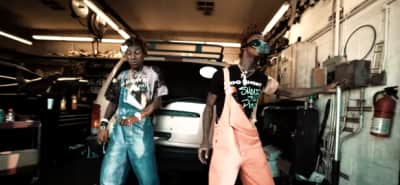 "Famous Dex And Rich The Kid Flex In An Auto Shop In Their ""I'm Cool"" Video"