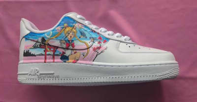 Jyn Waye's hand-painted Air Force 1s belong in the MoMA