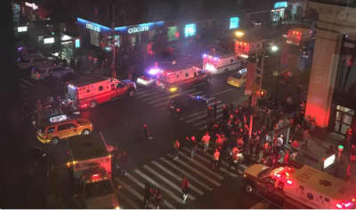 Explosion Reported In New York City's Chelsea Neighborhood