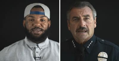 The Game Teamed Up With LAPD Chief Charlie Beck For A Stop The Violence Video