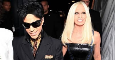 Donatella Versace Played Unreleased Prince Music At Milan Fashion Week