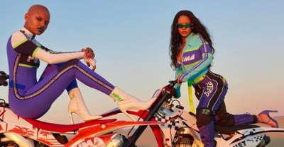 Rihanna announces drop for SS18 FENTYxPUMA