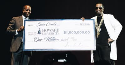 Puff Daddy Gave $1 Million To Howard University