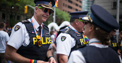 Toronto Police Are No Longer Allowed To March In The City's Pride Parade