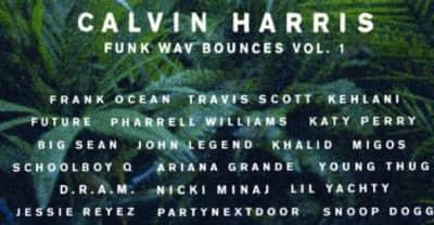 Calvin Harris Shares Instrumentals For Funk Wav Bounces Vol. 1