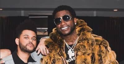 "Watch Gucci Mane and The Weeknd in the trippy ""Curve"" video"