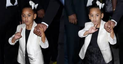 Blue Ivy Sprinkled The CDFA Red Carpet With A Little Bit Of Magic