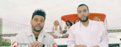 "French Montana And The Weeknd Tour NYC In The ""A Lie"" Video"