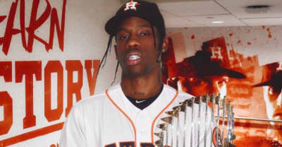 Watch Travis Scott react to the Houston Astros World Series win