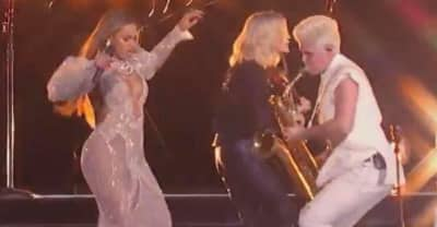 How The Band With The Dancing Sax Player Ended Up Performing With Beyoncé At The CMAs