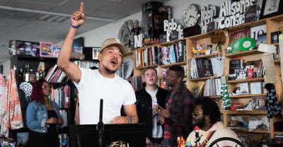 Watch Chance The Rapper's Tiny Desk Concert