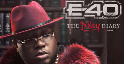 E-40 Announces New Double Album The D-Boy Diary Books 1 & 2
