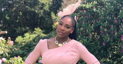Serena Williams showed out at the Royal wedding